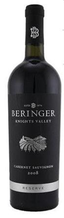 Beringer Vineyards Cabernet Sauvignon Knights Valley Reserve